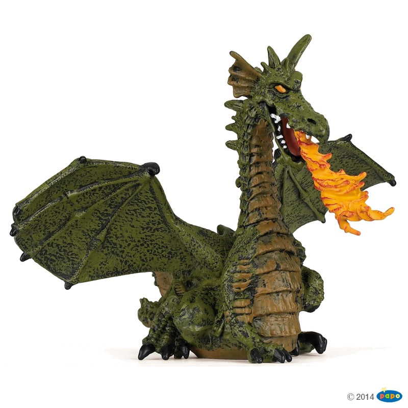 Papo Dragon Green 39025
