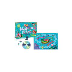 Peaceable Kingdom Cooperative Game Mermaid Island Pieces