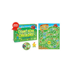 Peaceable Kingdom Cooperative Game Count Your Chickens 2