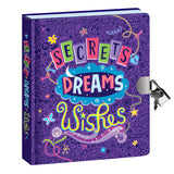 Lock & Key Diary Secrets Dreams Glow in the Dark