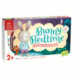 Peaceable Kingdom Bunny Bedtime Make-a-Choice Game 4