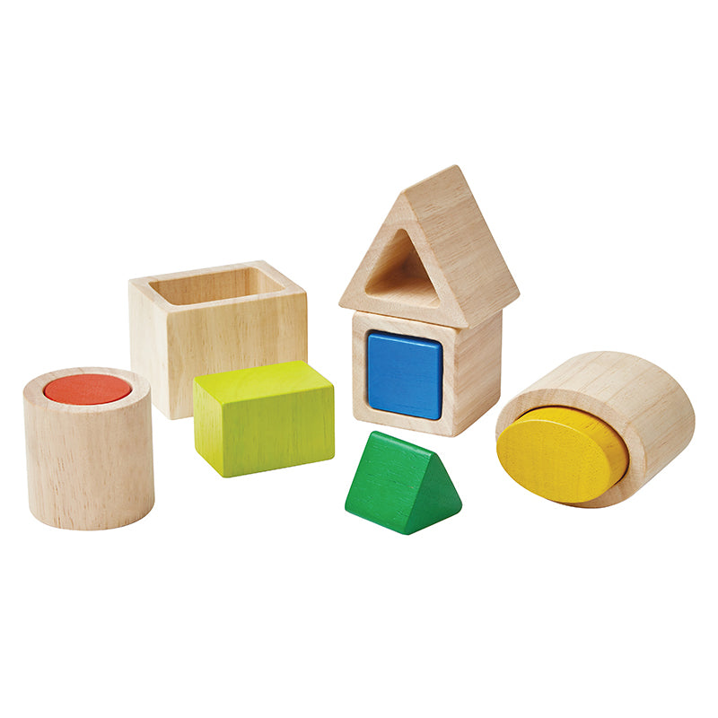 PlanToys Geo Matching Blocks