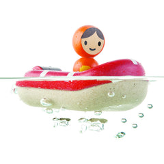 PlanToys Coastguard Boat in Water