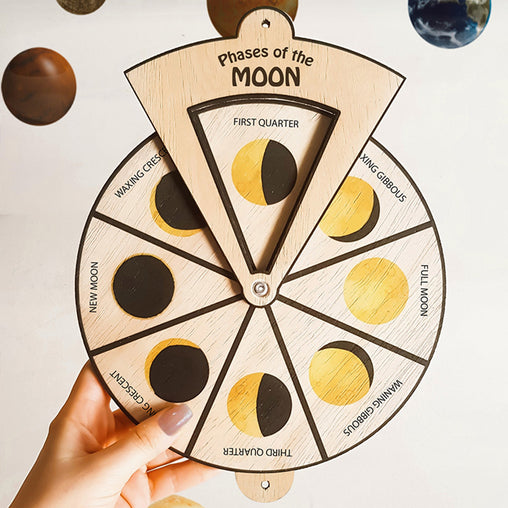 Minisko Learning Wheel Astronomy Moon Phases