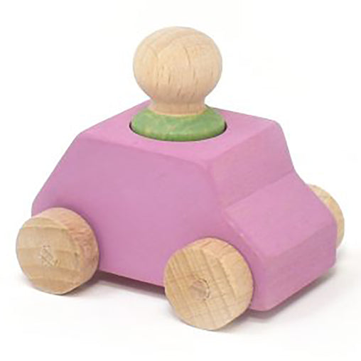 Lubulona Car Pink with Mint Figure