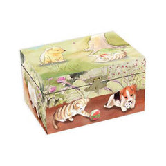 Enchantmints Playful Pets Music Box Closed
