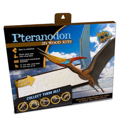 Heebie Jeebies Pteranodon Dinosaur 3D Wood Kit Packaging