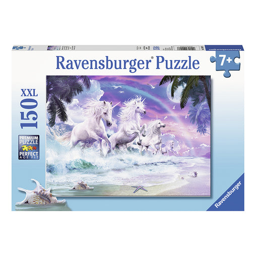 Ravensburger Unicorns on the Beach 150 piece XXL Puzzle Front Cover