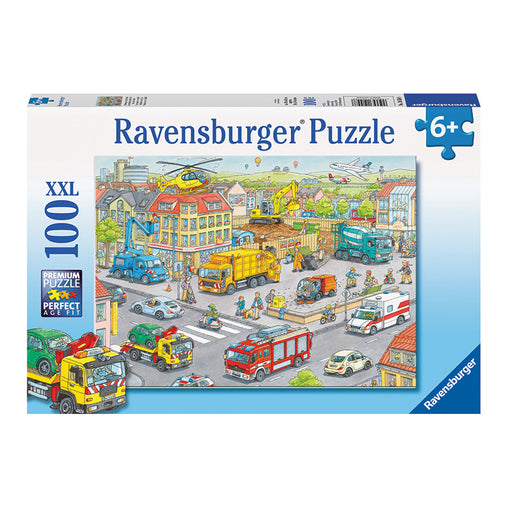 Ravensburger Vehicles in the City 100 Piece XXL Puzzle