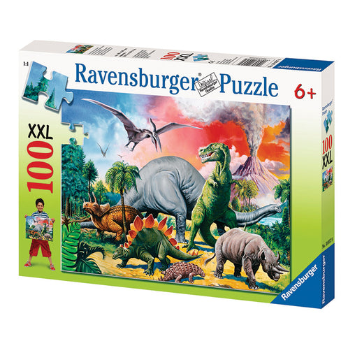 Ravensburger Among the Dinosaurs 100 Piece XXL Puzzle