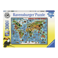 Ravensburger Animals Of The World 300 Piece XXL Puzzle Packaging