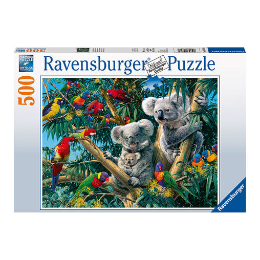 Ravensburger Koalas In A Tree 500 Piece Puzzle Packaging