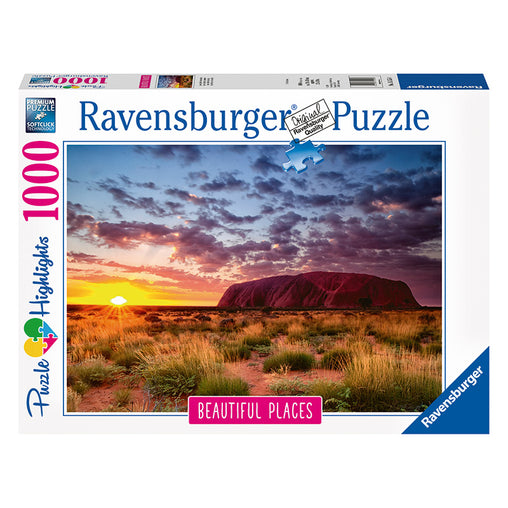 Ravensburger Ayres Rock Australia Puzzle 1000 Piece Puzzle Packaging