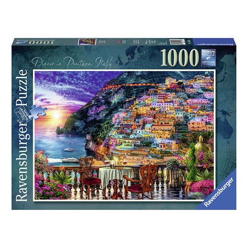 Ravensburger Positano, Italy Puzzle 1000 Piece Puzzle Packaging