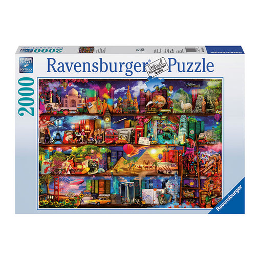 Ravensburger World Of Books 2000 Piece Puzzle Packaging