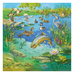 Ravensburger Animals In Their Habitats 3 x 49 Piece Puzzle Water