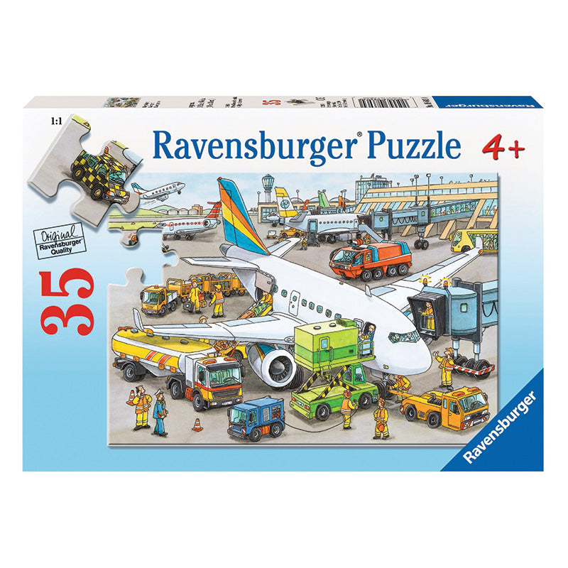 Ravensburger Busy Airport 35 Piece Puzzle