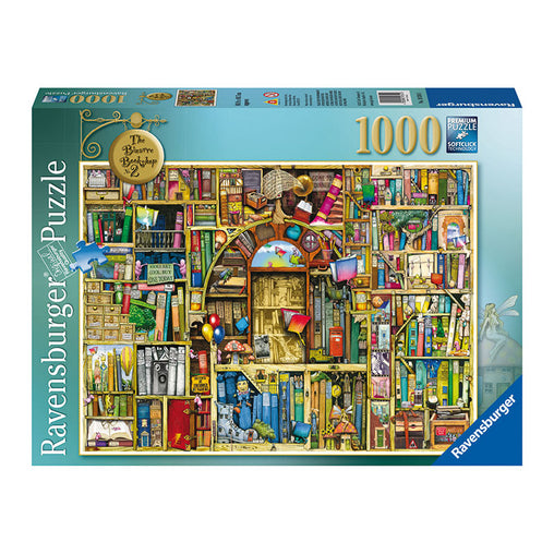Ravensburger Thompson's Bizarre Bookshop 2 1000 Piece Puzzle Packaging