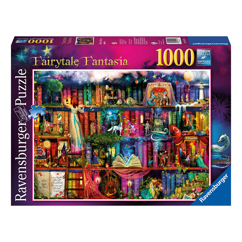 Ravensburger Fairytale Fantasia 1000 Piece Puzzle Packaging