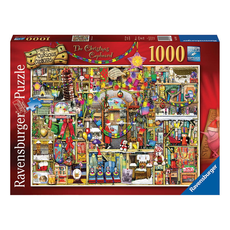 Ravensburger Christmas Cupboard 1000 Piece Puzzle Packaging
