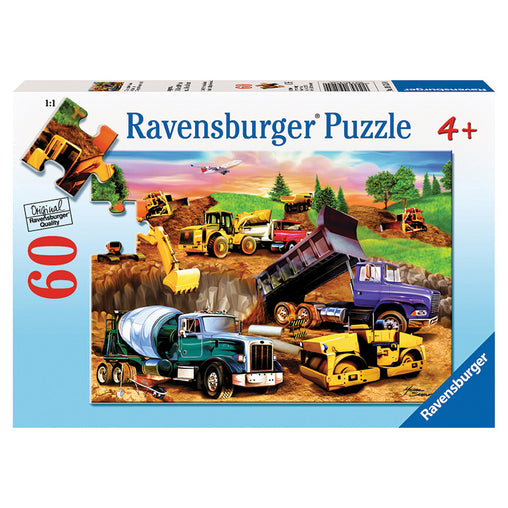 Ravensburger Construction Crowd 60 Piece Puzzle