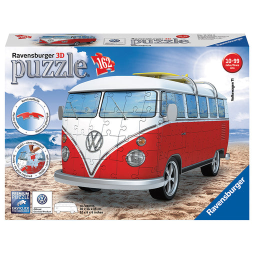 Ravensburger VW Kombi Bus 3D Model 162 Pieces