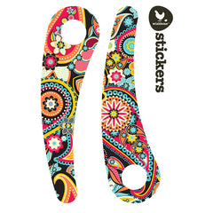 Wishbone Recycled Edition Stickers Paisley 2