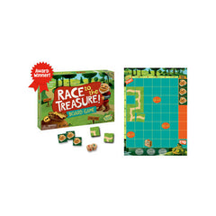Peaceable Kingdom Cooperative Game Race to the Treasure Pieces