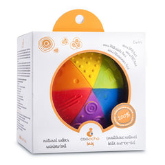 Caaocho Rainbow Sensory Ball Packaging