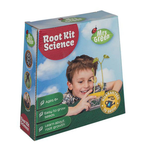 Mrs Green Root Science Kit Packaging