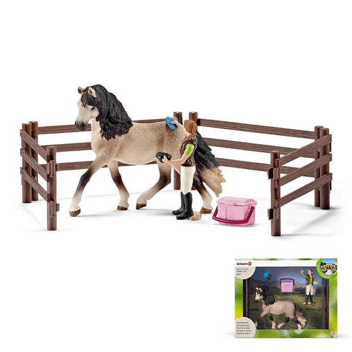Schleich Farm Life Andalusian Horse Care Set 42270