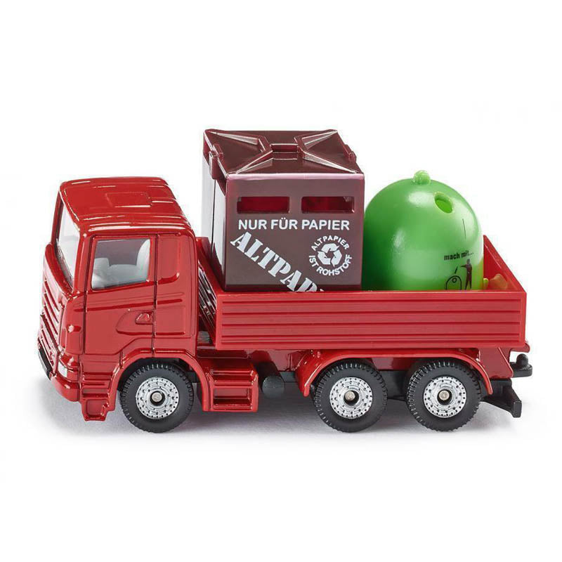 Diecast Model Recycling-Transporter si0828 vehicle toy