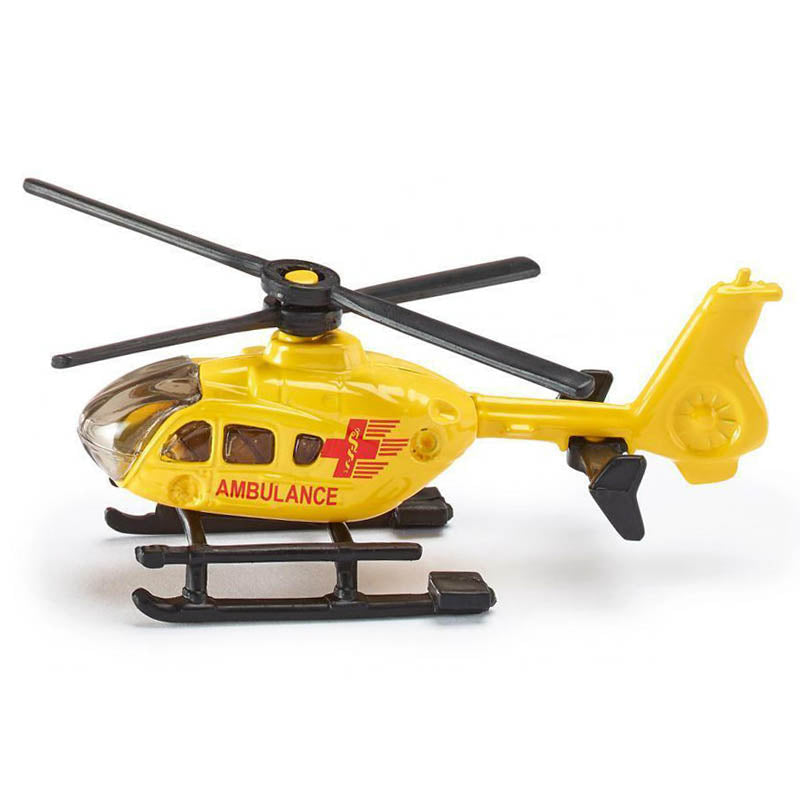 Siku Ambulance Helicopter Diecast Model