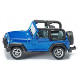 Jeep Wrangler Diecast Model