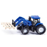 New Holland Tractor with Fork for Pallets Diecast Model