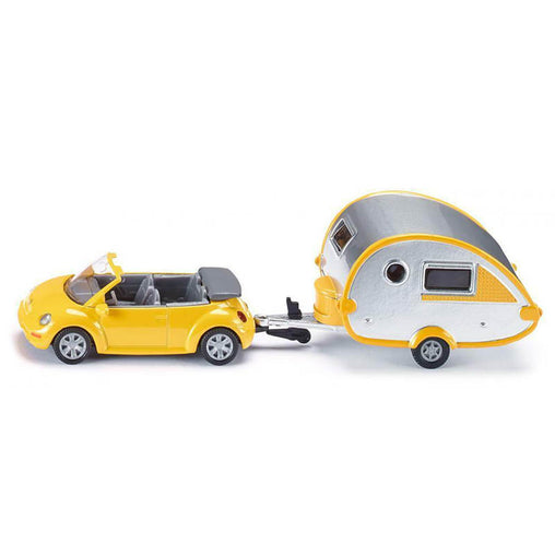 Siku Car with Caravan Diecast Model Vehicles
