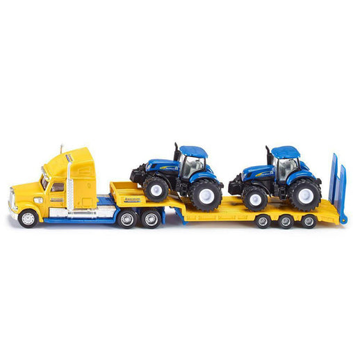 Siku Truck with 2 New Holland Tractors - 1:87 Scale