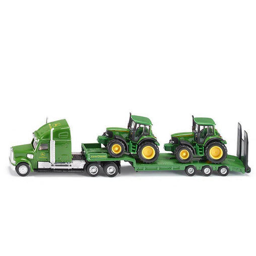 Siku Low Loader with John Deere - 1:87 Scale
