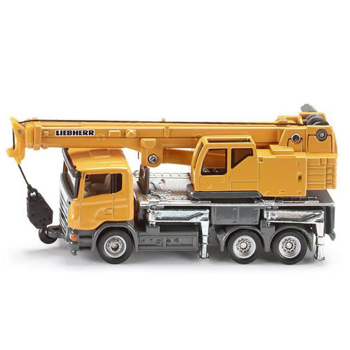 Siku Telescopic Crane Truck - 1:87 Scale Diecast Model
