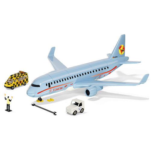 Siku Commercial Aircraft with Accessories