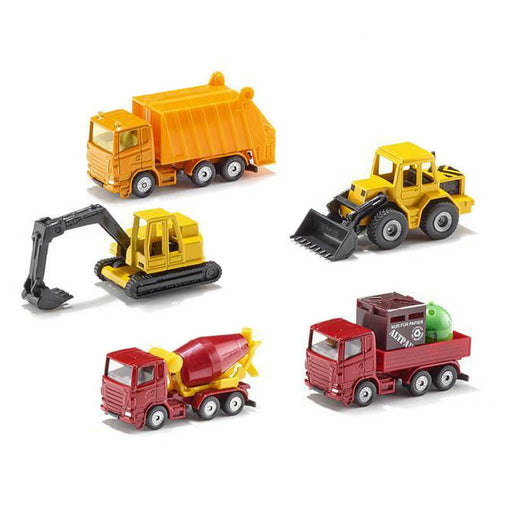 Siku Construction Vehicles Gift Set