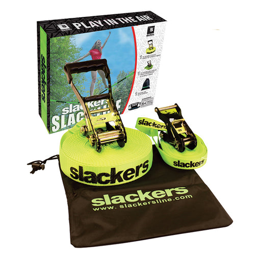 Slackers 50' Slackline Classic Kit Contents