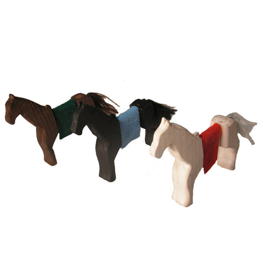 Magic Wood Horses Set of 3