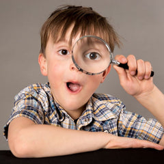 Heebie Jeebies Magnifying Glass with Boy