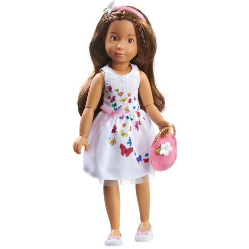Kathe Kruse Kruselings Sofia Doll in a Festive Summer Dress