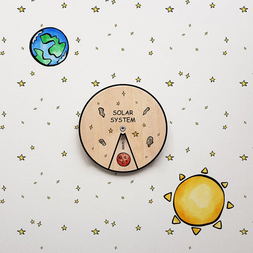 Minisko Learning Wheel Astronomy Solar System