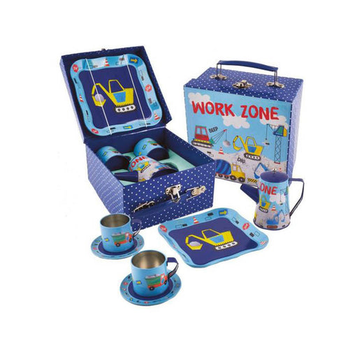 Floss & Rock Tea Set Construction 7 Piece