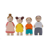 Wooden Family of Four