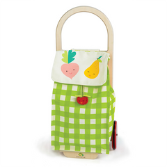 Tender Leaf Toys Shopping Trolley Pull Along