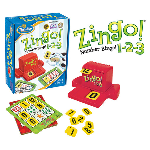 Thinkfun Game Zingo 123 Numbers